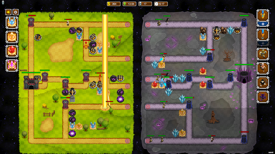Tower Storm - Multiplayer Tower Defense